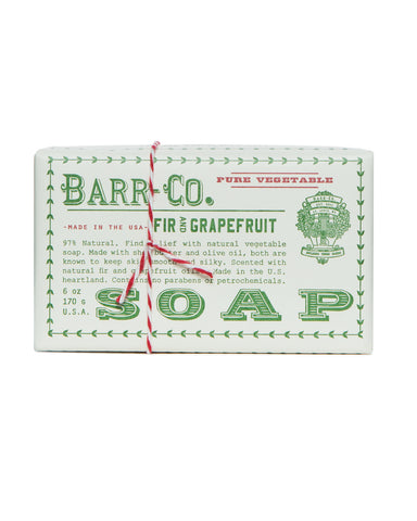 Barr Co. Bar Soap in Fir & Grapefruit