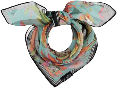 V. Fraas Tropical Print Scarf in Tropical