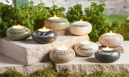 Polystone Asorted Candle Holders