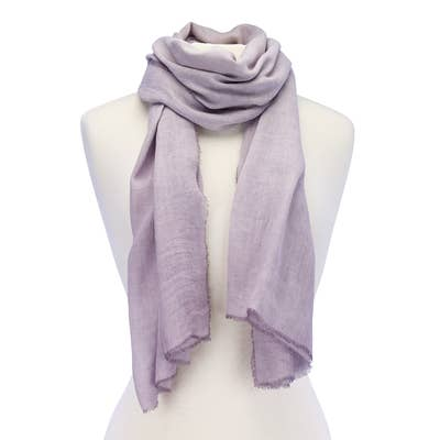 Soft Solids Viscose Scarf
