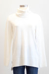 Tribal Cream Cowl Neck Sweater
