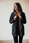 Tribal Clothing 3 in 1 Black Rain Coat Vest