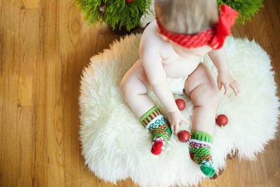 Solmate HUMBUG Holiday Baby Socks