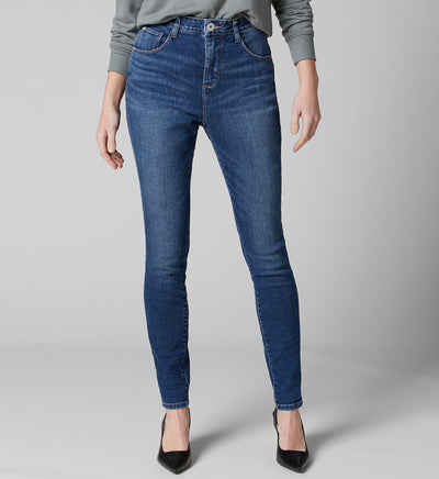 Jag Jeans High Rise Cecilia Skinny Jean in Tribeca Blue