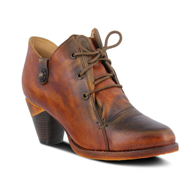 L'Atriste Juliane Camel Leather Boot