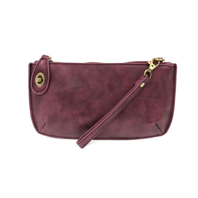 Joy Susan Mini Crossbody Wristlet Clutch Lustre