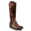 L'artiste Laretilyn Brown Leather Boot