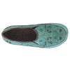 L'Artiste Libora Sky Blue Leather Shoe