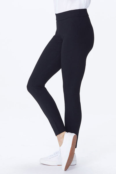 NYDJ Perfect Fit Basic Black Ponte Leggings