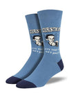 Socksmith Jolly Good Time - Blue, Men's Socks