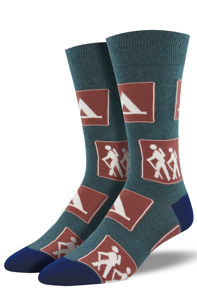 Men's Signs of the Trail Socks