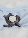 Cast Iron Turtle Votive Holder