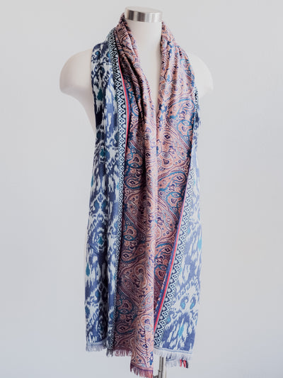 Split Tapestry Design Scarf