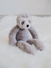 Jellycat Bailey Small Grey Sloth