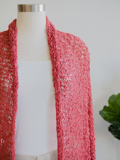 Lost River Popcorn Shawl (Multiple Colors)