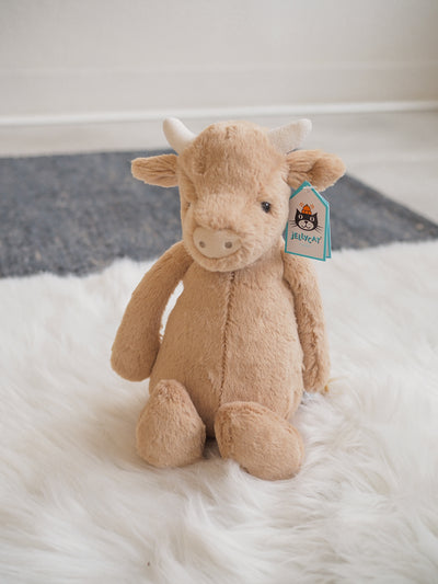 Jellycat Bashful Brown Cow