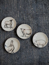 Farm Animal Stoneware Plate