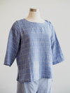 Habitat Mix It Up Blue River Crew Top