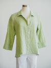 Habitat Mix It Up Margarita Green Shirt