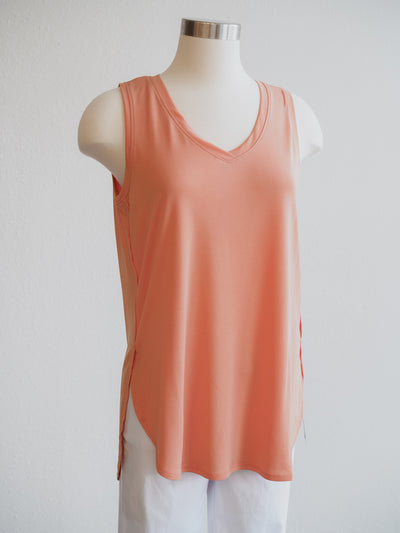 Tribal Tangerine Side Split Tank