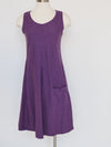 Cut Loose Clothing Damson Purple Easy Pocket Dress