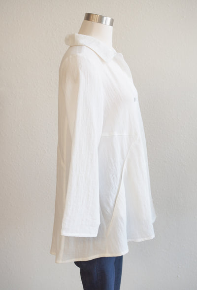 Habitat Swing Pocket Winter White Shirt