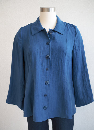 Habitat Moonlight Mixed Button Top