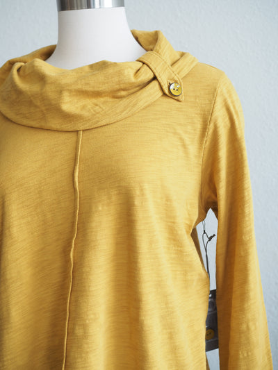 Habitat Button Cowl Neck Top