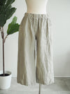 Cut Loose clothing Easy Crop Linen Pant