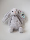 Jellycat Bashful Grey Small Bunny