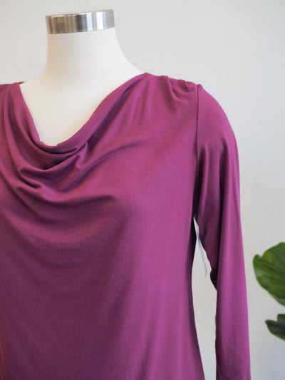 Cut Loose Drape Neck Vino Top