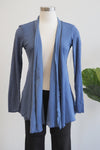 Cut Loose Space Blue Tulle Open Cardigan Top