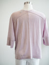 Tribal Lilac Dolman 3/4 Sleeve Sweater Blouse