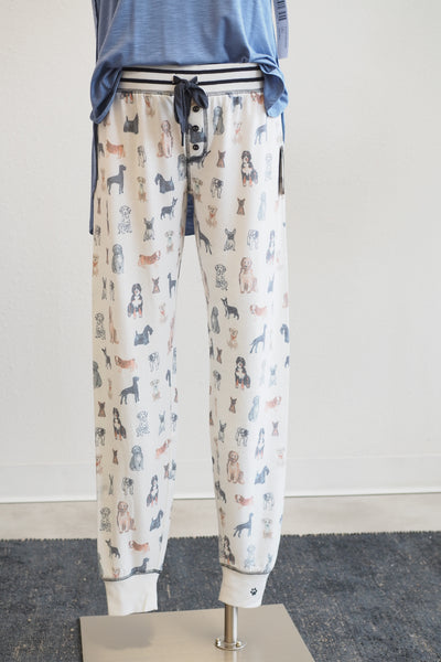 PJ Salvage Pawssible Puppy Pajama Pants