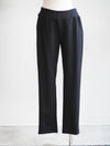 Cut Loose Slim Ankle Black Pants