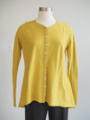 Cut Loose Clothing Parakeet Shell Button Cardigan Top