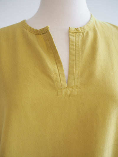 Cut Loose Split Neck Tencel Top