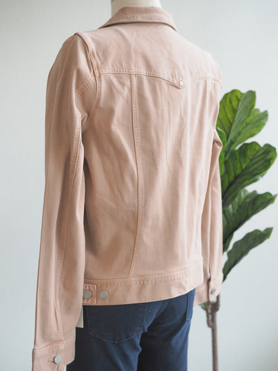 Liverpool Dusty Coral Denim Jacket