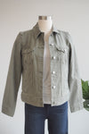 Liverpool Clothing Palm Green Classic Jean Jacket