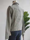Liverpool Palm Green Classic Jean Jacket