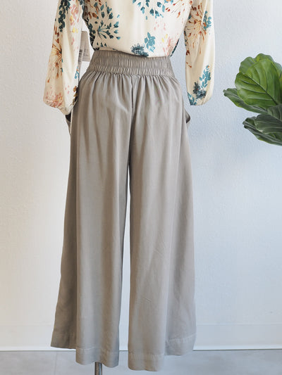 Tribal Pull On Cropped Palazzo Jungle Pant