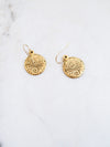 Erin Gray Gold Coin Earring
