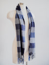 V. Fraas Blockplaid Scarf