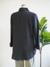 Habitat Black Solid Shape Shirt