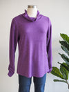 Habitat Fleece Rouche Sleeve Top