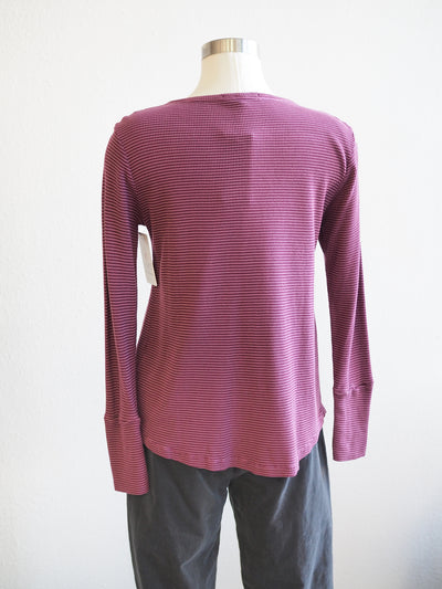Cut Loose Thermal Henley