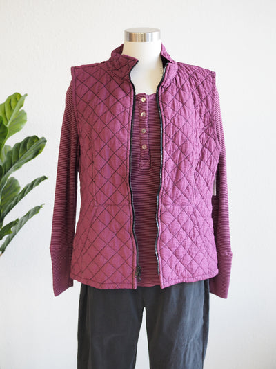 Cut Loose Quilted Vest
