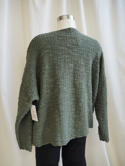 Cut Loose One Size Pocket Pullover in Gris