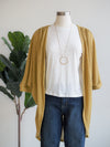 Before You Knit Dolman Sleeve Tea Leaf Cardigan