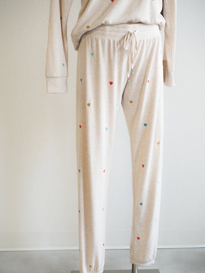 PJ Salvage Retro Lounge Oatmeal Pant
